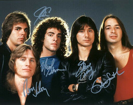 Journey Full Band Signed Photo 8X10 Rp Autographed Steve Perry Neal Schonn + All - $19.99