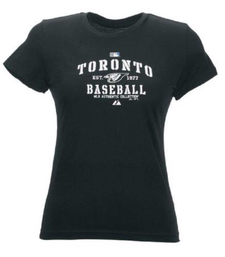 1XL Women's Toronto Blue Jays Shirt MLB Baseball Authentic Collection Tee