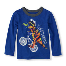 The Children's Place Toddler Boys Glow in the Dark T-Shirt Various Sizes... - $6.99
