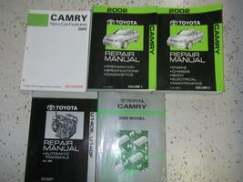 2002 Toyota Camry Servizio Negozio Riparazione Manuale Set Fabbrica W Ew... - $227.35