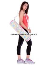 Indian Handmade Mandala Ombre Hippie Yoga Mat Carrier Bag with Shoulder ... - $302,71 MXN