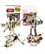 Year 2009 Star Wars Transformer Crossovers 2 Pack 7 Inch Tall Figure - C... - $89.99
