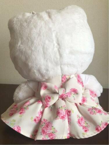 34749608e Hello Kitty meets LAURA ASHLEY Plush Doll Couture Rose 2016 Sanrio Japan F/S