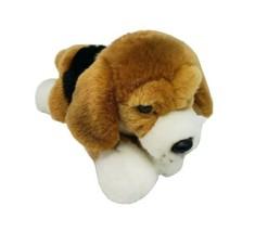 GANZ Webkinz Signature Couché Beagle Chiot Chien Peluche Animal Jouet WKSS2001 - $27.00