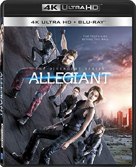 The Divergent Series: Allegiant (4K Ultra HD+Blu-ray)