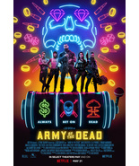 """Army of the Dead Poster Zack Snyder Movie Art Film Print Size 24x36"""" 27x40"""" - $10.90+"""