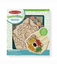 Melissa & Doug 3101 Created by Me! Birdhouse Wooden Craft Kit - $17.72