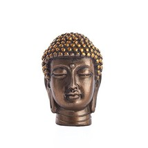 Gautama Buddha Head Religious Buddhist Meditation Desktop Figurine Statu... - $9.59