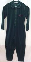 Victoria's Secret Country Green Pajamas Jumper Size Medium 1 Piece Long Johns - $34.60