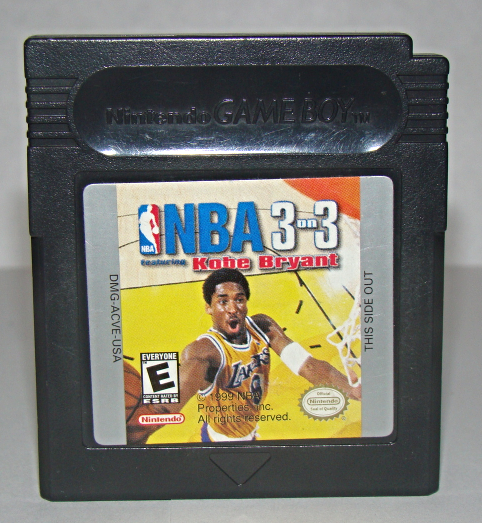 Primary image for Nintendo GAME BOY - NBA 3 on 3 feat KOBE BRYANT (Game Only)