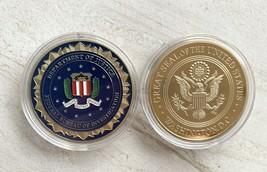 US Department of Justice Federal Bureau Of Investigation ( FBI ) Challen... - $14.74