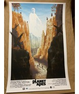 Planet Of The Apes 24x36 Poster Art Print by Kevin Wilson from Grey Matt... - $59.80