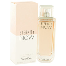Calvin Klein Eternity Now Perfume 3.4 Oz Eau De Parfum Spray image 1