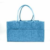 Throsbies Baby Diaper Caddy and Nursery Organizer Tote (Blue) Soft, Cute... - $24.80