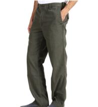 Dockers Mens Big & Tall Comfort Cargo Classic-Fit Flat-Front Pants Green... - $29.69