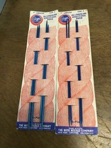 """Boye Aluminum Knitting Pins Lot Of 2 Size 0 And 2 Length 7"""" - $12.00"""