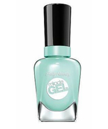Sally Hansen Miracle Gel Nail Polish B Girl no light, medium .5oz turquo... - $9.49
