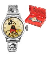 Vintage Ingersoll 'Walt Disney Mickey Mouse' Stainless Steel Wrist Watch... - $2,193.12