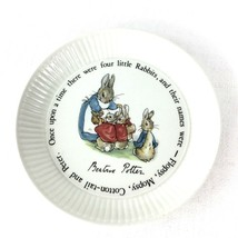 Wedgwood Porcelain Peter Rabbit made in England Plate - $11.87