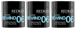 Redken Rewind 06 Pliable Styling Paste 5oz (pack of 3 ) - $60.37