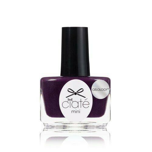 Ciate London Mini Gelology Nail Polish Paint Reign Supreme Purple .17 Oz - NEW