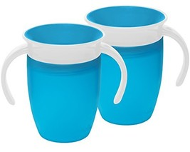 Munchkin Miracle 360 Trainer Cup, Blue, 7 Ounce, 2 Count - $14.65