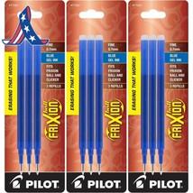 Pilot Gel Ink Refills For Frixion Erasable Gel Ink Pen, Fine Point, Blue... - $7.50+