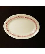 "Mayer Arrowhead Oval  Bread Plate 9"" China Restaurant Ware Vintage MCM - $18.99"
