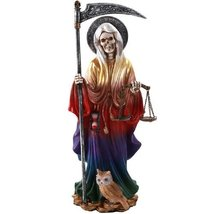 Pacific Giftware Santa Muerte Saint of Holy Death Standing Religious Statue 10 I - $32.66