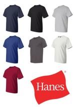 Hanes - Beefy-T Tall T-Shirts- 518T Sizes LT XLT 2XLT 3XLT 4XLT 7 Colors - $6.19+