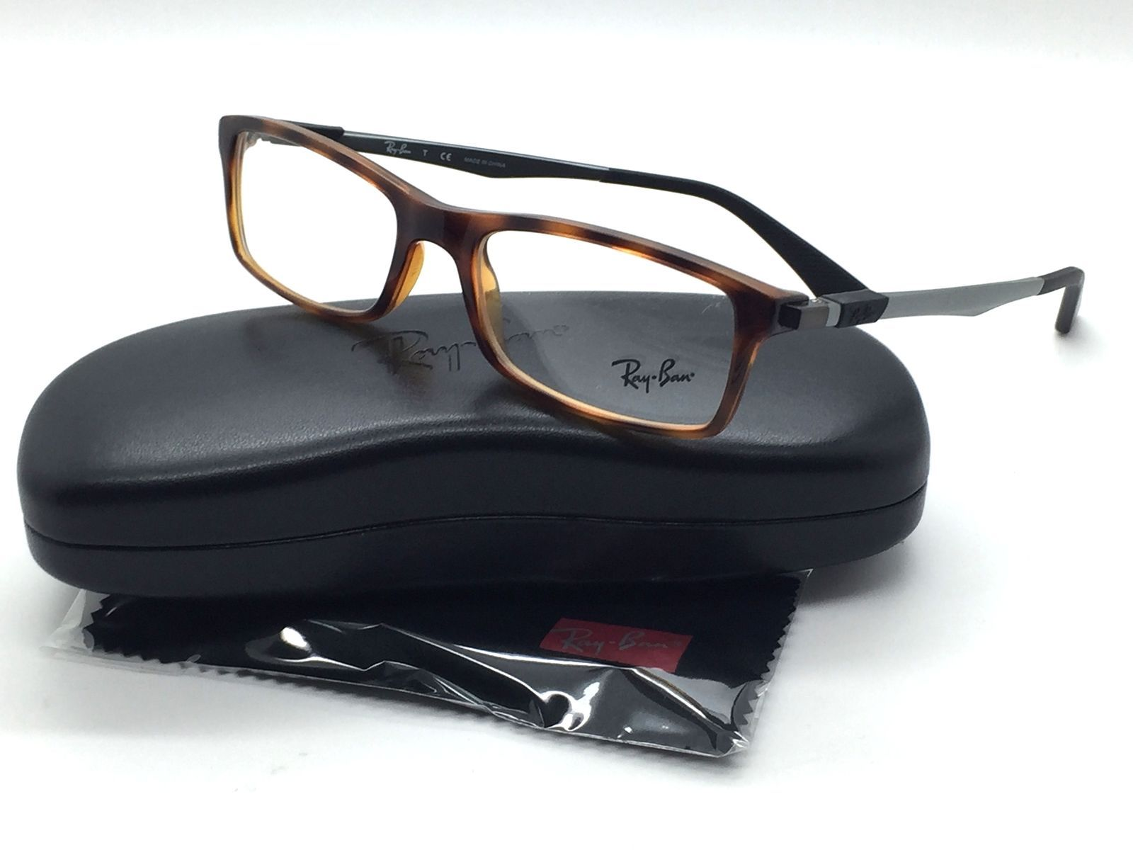 e31f16bfff Ray Ban Unisex Tortoise Rectangular New and 50 similar items. S l1600
