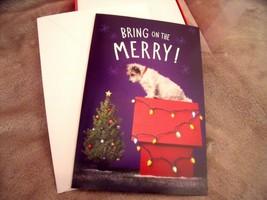 NEW Box 16 SLEDDING FOX CHRISTMAS CARDS  Let it Snow HOLIDAY  American G... - $12.82