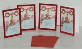 Hallmark XZH 604 4 Grinch Cutting Roastbeast Christmas Card Package 4 image 1