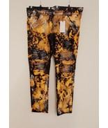 Golden Denim Jeans for Men Distressed Pants Moto Ribbed Stretch Fashion ... - $94.81