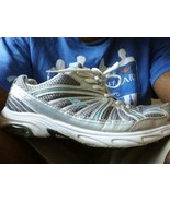 EVERLAST SHOES SIZE 11W silver athletic WHITE - $19.40