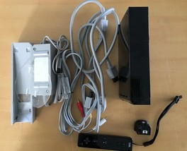 Nintendo Black Wii Console System Japan Import - $69.30
