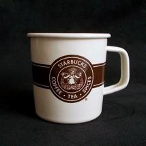 Starbucks Metal Enamel Mug Siren Mermaid Coffee Tea Spices Cup 2016 - $12.86