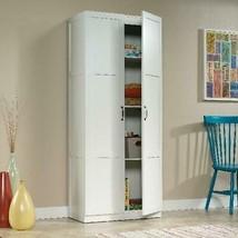 Kitchen Pantry Storage Cabinet Tall Wood Organizer Furniture Adjustable ... - £132.51 GBP