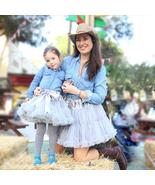 Lovely Mother and Daughter Tulle Puffy Princess Mini Skirt Saia Falda El... - $56.82+