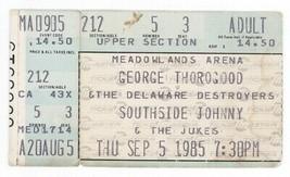 George Thorogood & Southside Johnny 9/5/85 E Rutherford NJ Ticket Stub! - $6.92