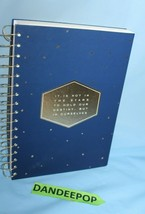 It Is Not In The Stars To Hold Our Destiny But Ourselves Lined Planner Book - $19.79