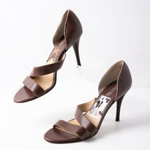 Michael Michael Kors Womens Leather Heels Pumps Sz 8.5 Brown Strappy  - $37.61
