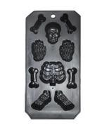 Corps Humain Squelette Pièce OS Bac à Glaçons Moule Artisanats Bonbon Shots - $5.84