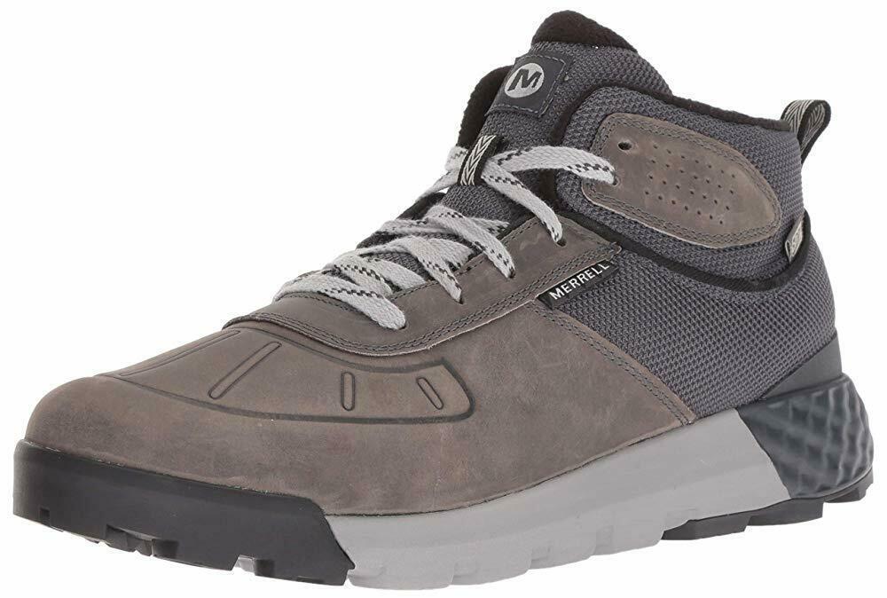 Merrell Mens Convoy Mid Polar Waterproof AC+ Snow Shoes Castlerock J32939