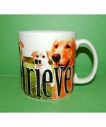 Golden Retriever Photo 3D Coffee Mug Cup Large Embossed Raised Letters 1... - $19.80