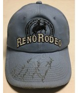 Reno Rodeo Hat Signed 2004 Western Cowboy Cap Nevada Event Destroyed Con... - $23.75