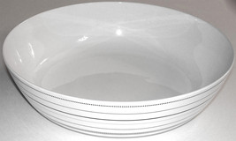 Spode Bowl Porcelain White Silver Centerpiece Kara Salad Plate Dinnerwar... - $58.50