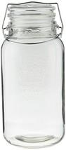 Grant Howard Jumbo Regal Embossed Glass Storage Jar, 136 oz, Clear - $36.06
