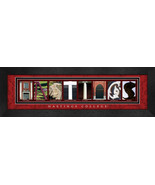 Hastings College Officially Licensed Framed Campus Letter Art - $39.95