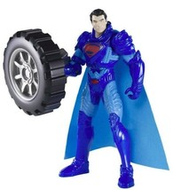 Superman Man of Steel 2013 Power Attack Deluxe WHEEL WRECKER Action Figu... - $11.38